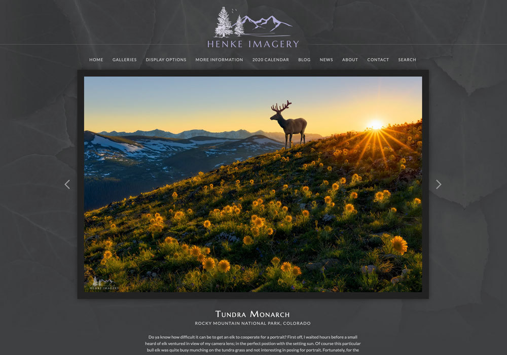"""""""Although there are many choices of commercial photography website builders available, none of them included all the features..."""