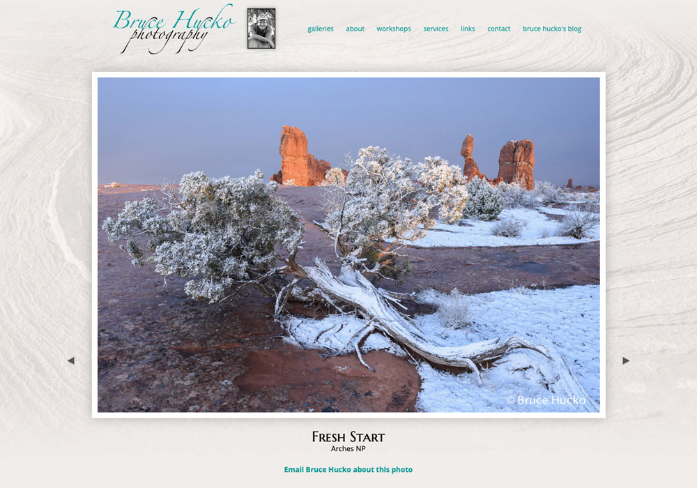 Bruce Hucko, Moab, Utah
