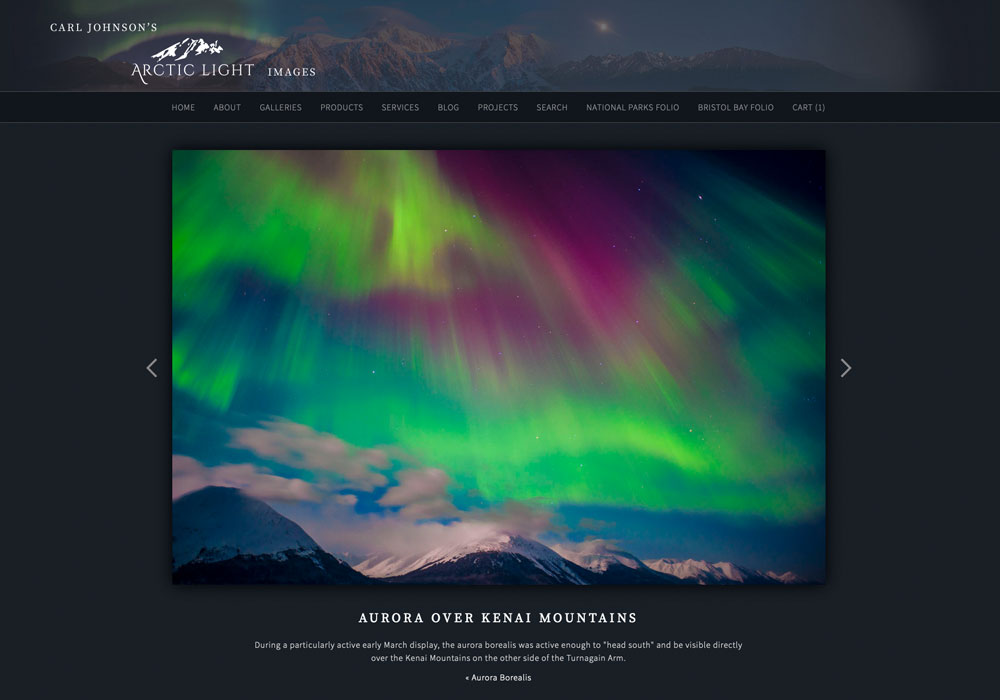 Carl Johnson, Anchorage, Alaska