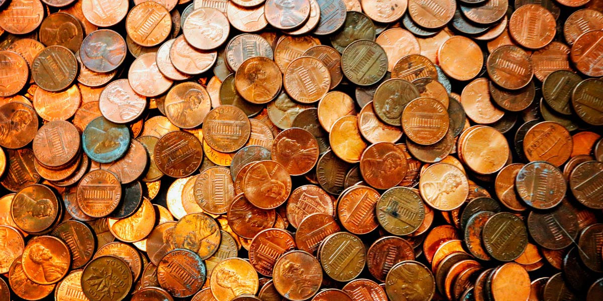 pennies for the taxman