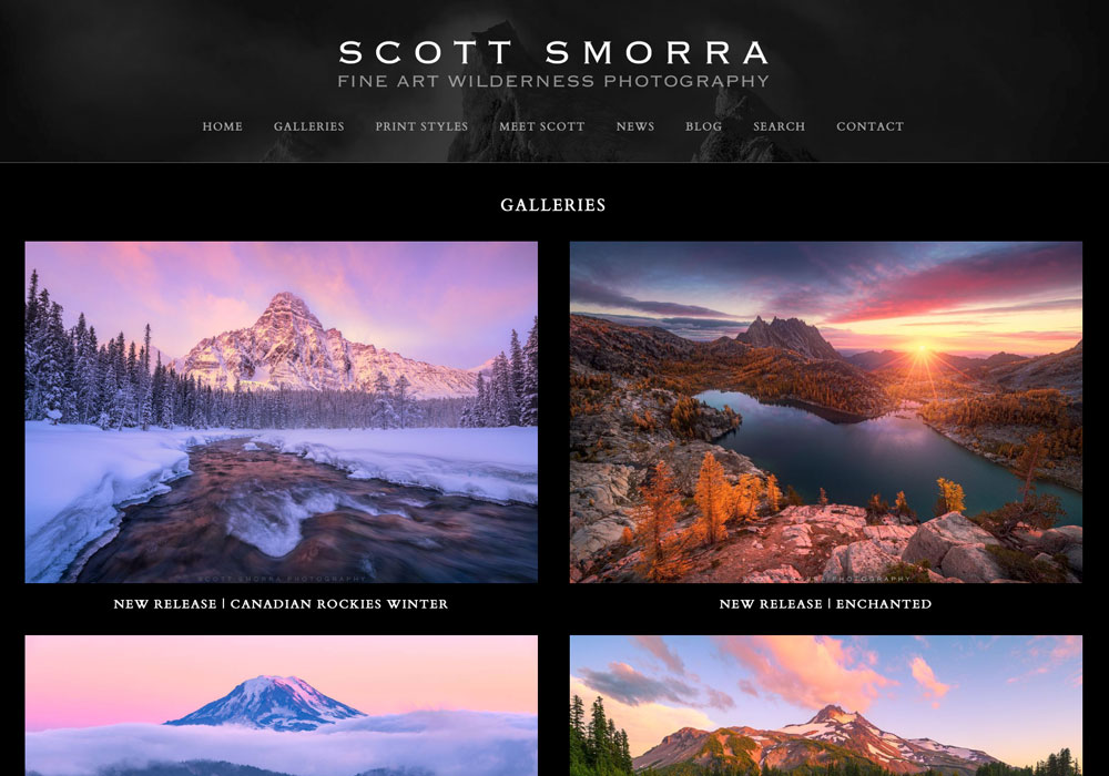 """""""If you are a photographer or artist looking to build a new custom website, I would highly recommend WideRange Galleries. Jack..."""