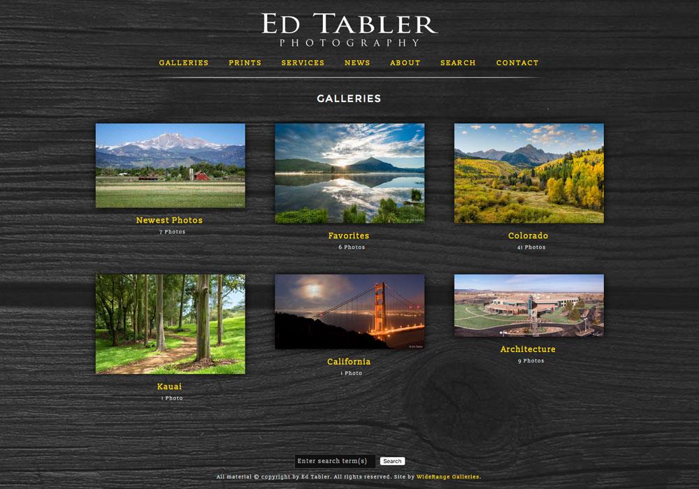 Ed Tabler, Niwot, Colorado